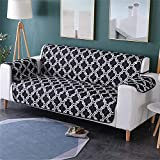 Vedem Pet Water-Resistant Sofa Slipcover Furniture Protector Loveseat Cover for Dogs Cats (Sofa, Black)