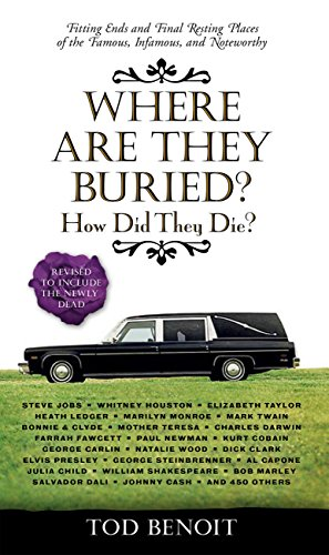 Where Are They Buried?: How Did They Die?  Fitting Ends and Final Resting Places of the Famous, Infamous, and Noteworthy (Revised & Updated) cover