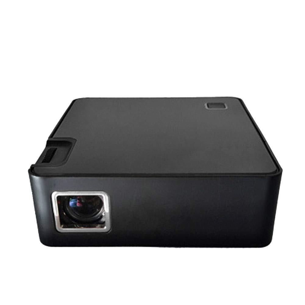 プロジェクター ポータブルミニプロジェクター、 LED 1080P HD投影、 に適して ファミリー/劇場/パーティー B07R32XHCV
