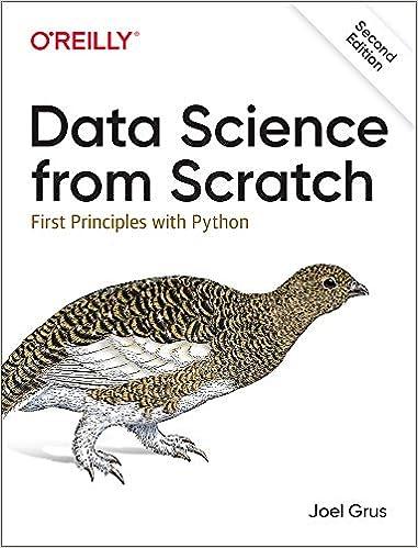 Ciencia de datos desde cero: principios con Python