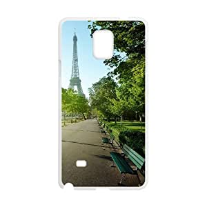 LASHAP Phone Case Of Tower Eiffel, a famous French building For Samsung Galaxy Note 4