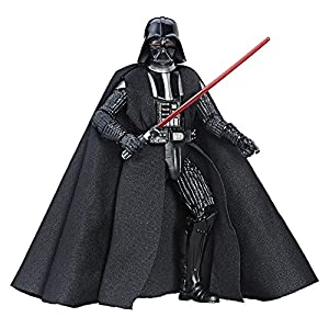 Star Wars Series Darth Vader Action Figure, Black, 6″