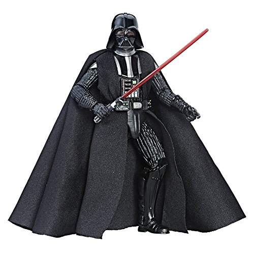 Star Wars Series Darth Vader Action Figure, Black, 6