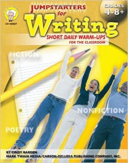 Jumpstarters for Writing, Grades 4 - 12 by Linda Armstrong (2005-01-03)