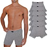 Andrew Scott Big & Tall Men's 6 Pack Cotton Boxer