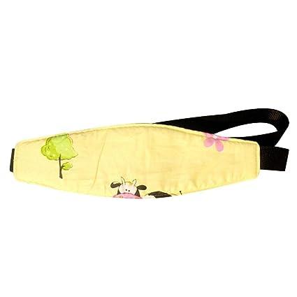 Soporte Cabeza Sujeta Cabezas Coche para Niños Asiento de seguridad para el automóvil Asiento Posicionador para