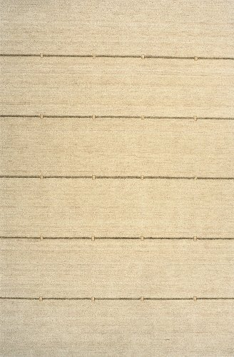 Gramercy Sand - Momeni Rugs GRAMEGM-03SND7696 Gramercy Collection, 100% Wool Hand Loomed Contemporary Area Rug, 7'6 x 9'6, Sand by Momeni Rugs