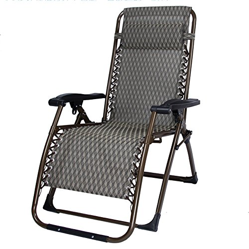 Lounge Chairs ZHIRONG Folding Casual Sun Loungers Garden Cha