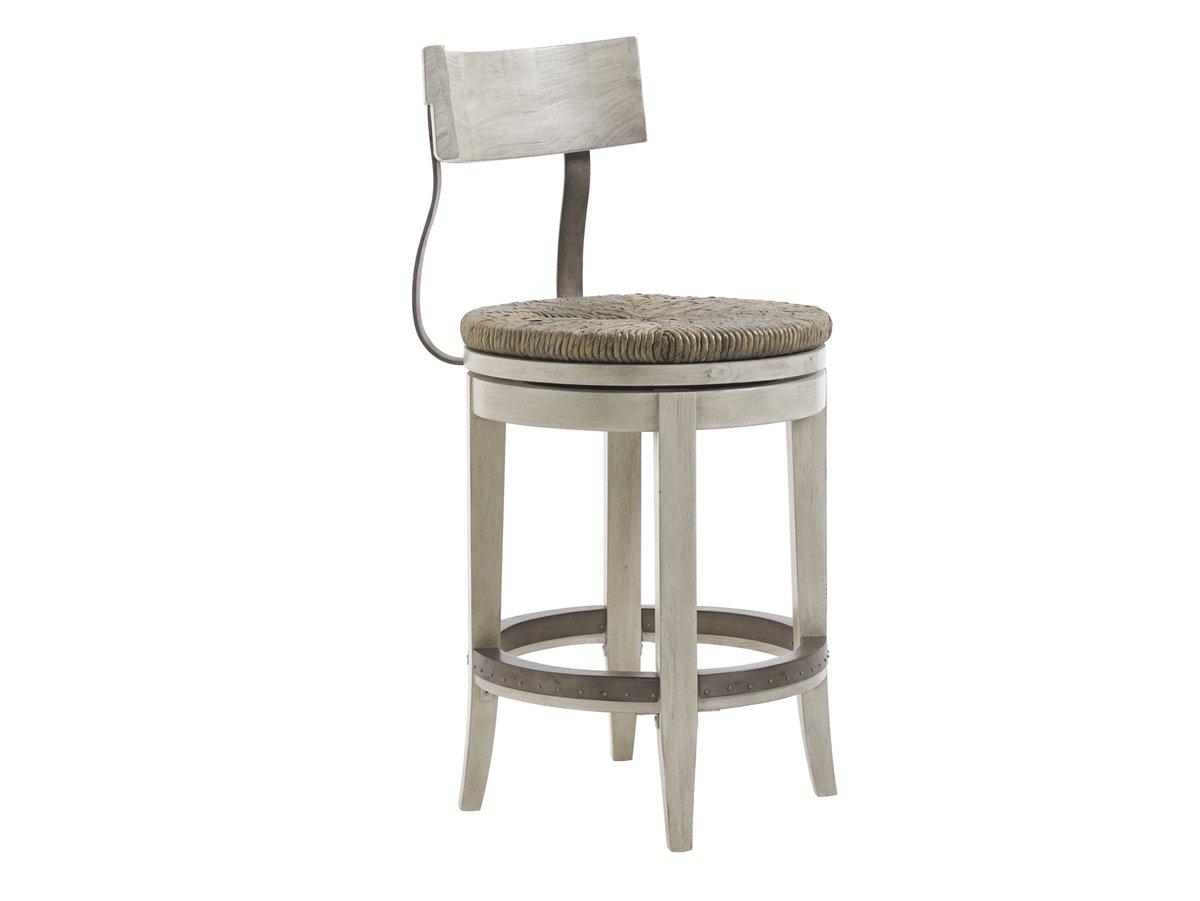 Enjoyable Amazon Com Lexington Oyster Bay Merrick Swivel Counter Creativecarmelina Interior Chair Design Creativecarmelinacom