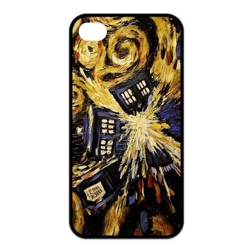 Fayruz- Doctor Who Protective Hard TPU Rubber Cover Case for iPhone 4 / 4S Phone Cases A-i4K184