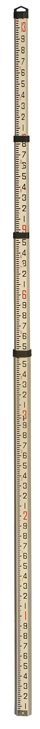 Johnson Level & Tool 40-6310 13' Grade Rod,
