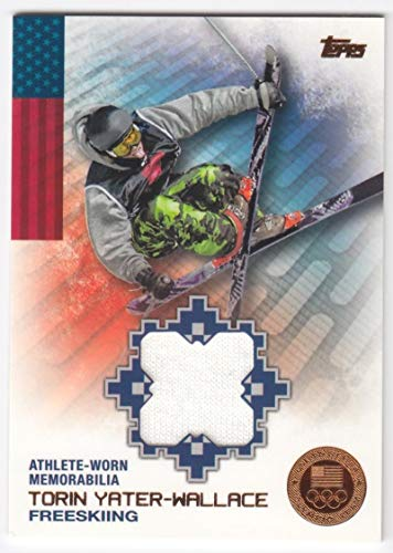 Torin Yater-Wallace 2014 Topps U.S. Olympic Team Relics Bronze #26/75#OR-TYW NM-MT MEM MultiSport from U.S. Olympic and Paralympic Team and Hopefuls