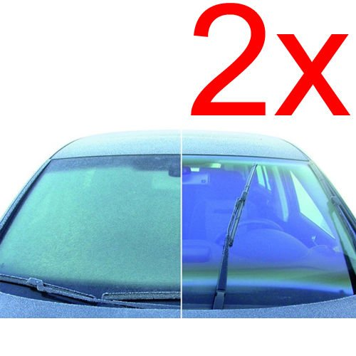2 X AUTO ANTI FOG SPRAY DEMISTER WINDOW CAR VAN DEFROSTER WINDSCREEN CLEANER NEW