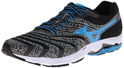 Mizuno Mens Wave Sayonara 2 Running Shoe Black/Dude Blue/White I0iLkzY7i