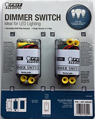 Feit 3 Way Dimmer Switch Wiring Diagram - Wiring Diagram Feit Electric Way Dimmer Switch Wiring Diagram on