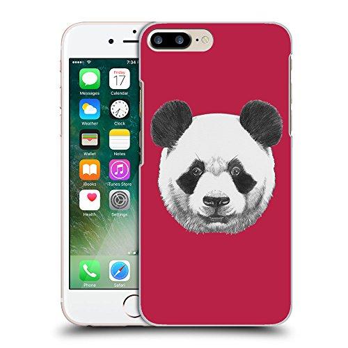 GoGoMobile Coque de Protection TPU Silicone Case pour // Q05300615 Panda Marron clair // Apple iPhone 7 PLUS
