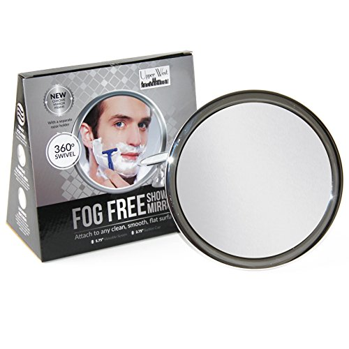 No-Fog-Shower-Mirror-with-Rotating-Locking-Suction-Bonus-Separate-Razor-Holder-Adjustable-Arm-for-Easy-Positioning-Best-Personal-Mirror-for-Shaving-Available-The-Perfect-Gift