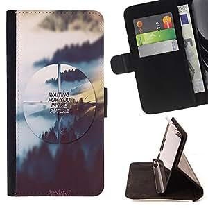 Dragon Case - FOR Samsung Galaxy S3 III I9300 - waiting for you - Caja de la carpeta del caso en folio de cuero del tir¨®n de la cubierta protectora Shell