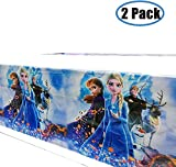 ANEWISH Mofunni Frozen Princess Tablecover Party