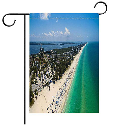 - BEICICI Garden Flag Double-Sided Printing,Anna Maria Island Decorative Deck, Patio, Porch, Balcony Backyard, Garden or Lawn