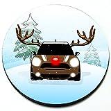 Reindeer MINI - Magnetic Grill Badge For MINI Cooper