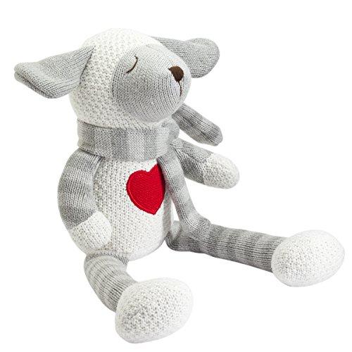 Elegant Baby Knitted Knittie Bittie, Lambie, 15