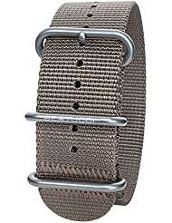 Bertucci DX3 B-138 Dark Khaki 26mm Nylon Watch Band