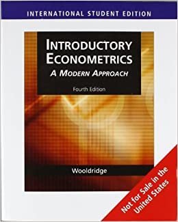 Wooldridge Econometrics Pdf