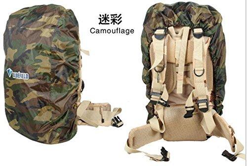 バックパック雨カバー、FomeナイロンバックパックRain Cover forハイキング/キャンプ/旅行+ A FOMEギフト B011KFTW9S Medium|迷彩 迷彩 Medium