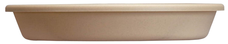 Akro-Mils SLI06000A34 Classic Saucer for 6-Inch Classic Pot, Sandstone, 6.88-Inch Akro-Mils Garden