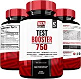 Testosterone Booster For Men & Women By USA Supplements - The Best Muscle Enhancement Treatment - All Natural Vitamins for Energy and Sex Drive - Herbal Tongkat Ali, Horny Goat Weed Leaf Extract