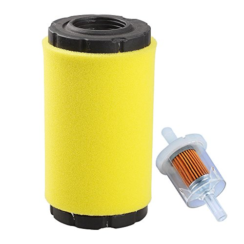 - HIPA 793569 793685 Air filter / Pre Filter with Fuel Filter for Briggs & Stratton John Deere LA125 D120 Mower Tractor