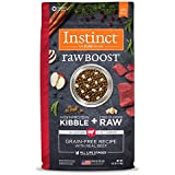 Instinct Raw Boost Grain Free Recipe with Real Beef Natural Dry Dog Food by Nature's Variety, 4 lb. Bag