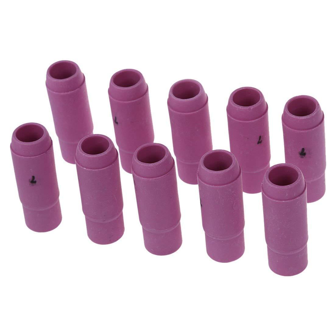 BloomGrün Co. 10 PC-Schweißbrenner Keramische Düsen 10N47  7 für die Taschenlampe 17 18 26