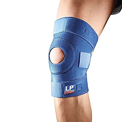 0a8dcafe15 Buy Lp Support Neoprene Advanced Open Patella Knee Support Online at Low  Prices in India - Amazon.in