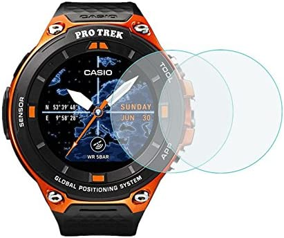 Screen Guard AirGlass Glass Screen Protector for Casio Pro Trek Smart WSD-F20A Ultra-Light Extra-Hard BROTECT