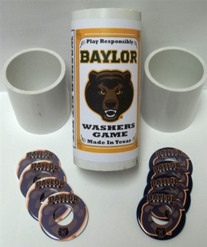 Baylor Bears Pitching Washers Game Set - Perfect Pitch Washers Shopping Results