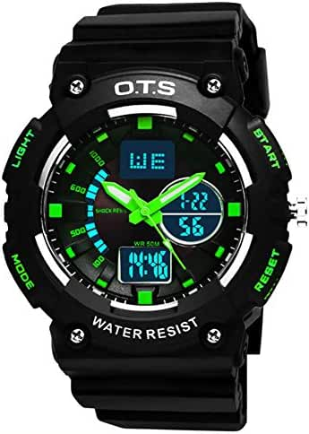 Youth outdoor sports watches/Fashion waterproof night electronic watch-A