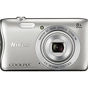 Nikon COOLPIX Silver S3700 20.1 MP Point & Shoot Digital Camera (Frustration Free Packaging) by ZeeTech