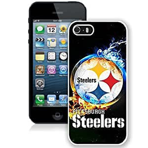 DIY iPhone 5s Case Design with Pittsburgh Steelers 2 Cell Phone Case for Iphone 5 5s Generation in White