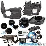 Rockford Fosgate X3-Stage4 400 watt stereo, front speaker, subwoofer, & rear speaker kit for select Maverick X3 models