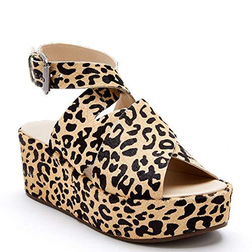 Matisse Coconuts Women's Runaway Leopard Platform Sandal