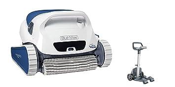 Dolphin BLUE Maxi 35 - Robot automático limpiafondos para piscinas (fondo y paredes) sistema