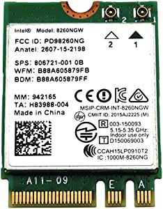 Sparepart: HP Intel Dual Band Wireless-AC, 806721-001
