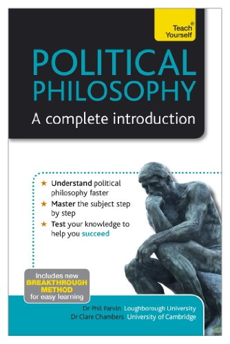 Political philosophy a complete introduction teach yourself political philosophy a complete introduction teach yourself by parvin phil chambers fandeluxe Choice Image