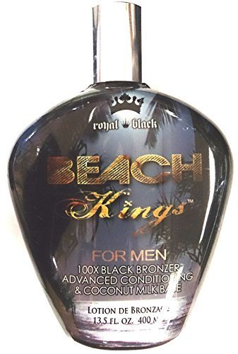 New Beach Kings 100x Black Bronzer for Men Indoor Tanning Be