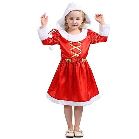 Lingqiqi Vestido De Navidad Vestido Navideño De Navidad De