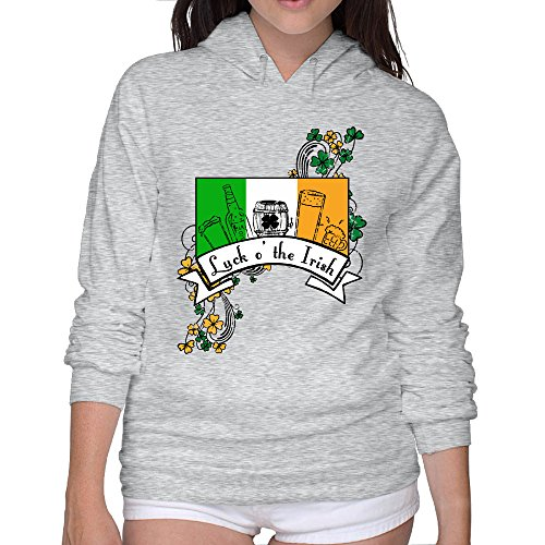 Luck 'o The Irish Women Comfortable Hoodies Sweatshirts Cool Hoodies