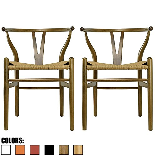2xhome - Set of Two (2) - Clear - Victoria Style Ghost Side Chairs Dining Room Chairs - Victorian Accent Seat - Lounge No Arm Arms Armless Less Chairs Seats Clear Living Room Chair
