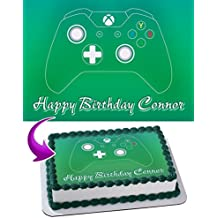 XBOX Edible Cake Image Topper Personalized Icing Sugar Paper A4 Sheet Edible Frosting Photo Cake 1/4 ~ Best Quality Edible Image for cake
